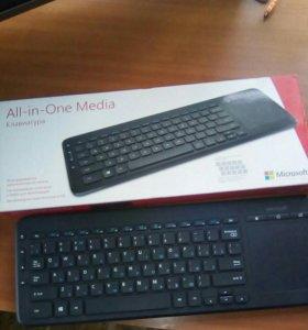 Беспроводная клавиатура мультисенсорн.панель