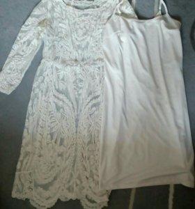 Платье VILA lexus lace 46 (L)