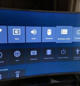 Приставка андроид тв S Box