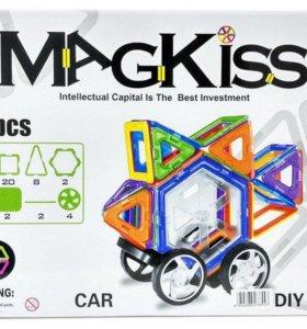 Магнитный конструктор MagKiss 70 деталей HD332A