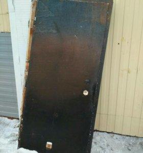 Дверь входная металл.недорого