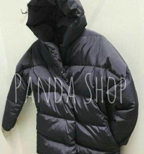 Зимняя куртка- зефирка