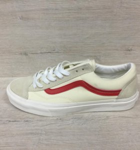 Vans Old Skool White/Red