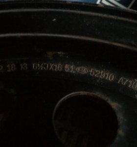 Оригинальные стальные диски от КИА ЦЕРАТО