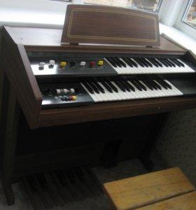 Синтезатор Yamaha Electone BK-2 орган с педалью