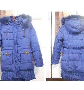 Куртка новая для девочки ЗИМА.