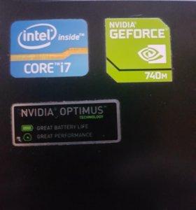 Acer aspire E1-570G i7. 3.1Ghz. озу8гб