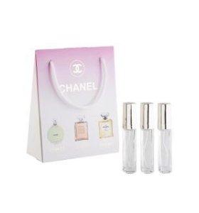 Подарочный набор Chanel, 3 х 15 ml