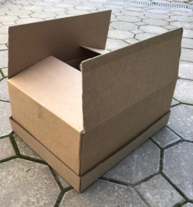 Коробки картонные б/у