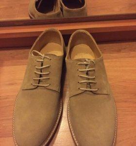 Мужские ботинки mango новые