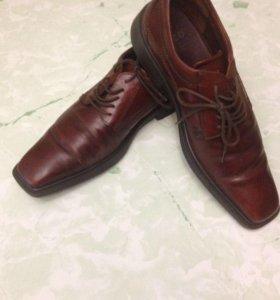Мужские туфли Экко