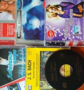 Диски аудио и видео