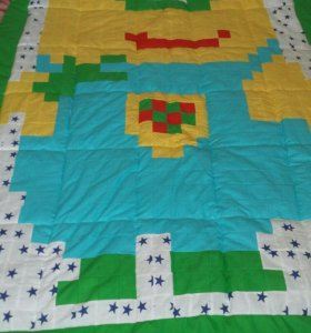 Лоскутные одеяла.