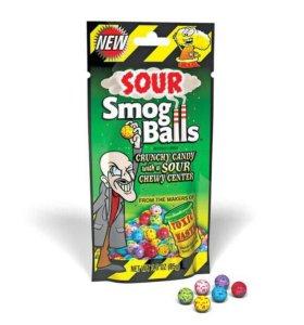 Кислые жевательные конфеты
