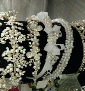Диадемы свадебные