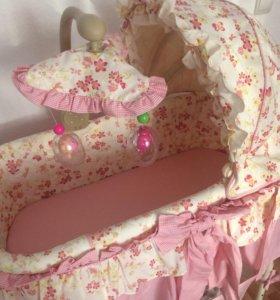 Кровать-люлька + подарок