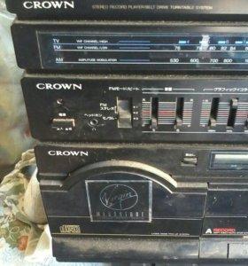 музыкальный центр crown