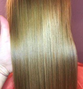 Ботокс для волос, кератиновое выпрямление Inoar.