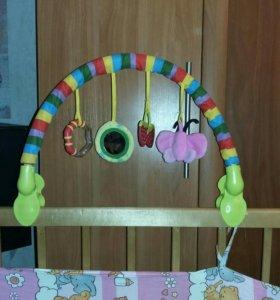 Игрушка детская, растяжка на кроватку или коляску