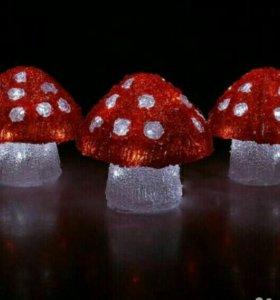 Ночник «Три гриба»