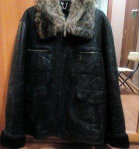 Зимняя куртка мужская L