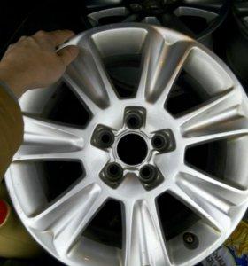 Оригинальные диски Audi a1, r15 5*100, 4шт