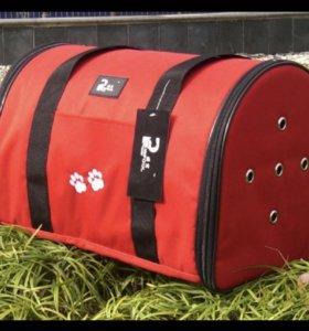 Переноска для кошки или собаки весом до 12 кг.