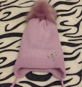 Модные зимние шапочки 8мес-1.5 года