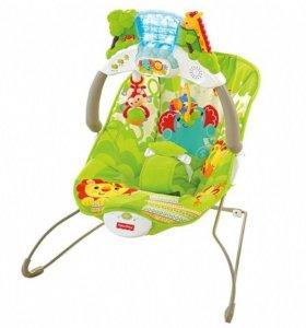 Кресло-качалка Друзья из тропического леса с игров