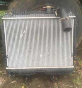 Радиатор на Уаз 469