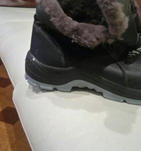 Ботинки нат кожа 42-43 р