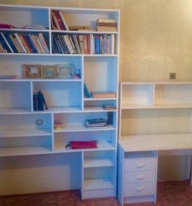 Шкаф + письменный стол в отличном состоянии