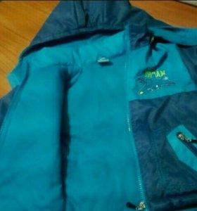 Комплект демисезонный (куртка+комбинезон)