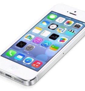 Айфон 5 32гб. простой белый