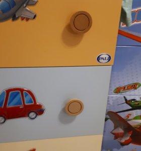 Шкаф и комод детский Pali Италия