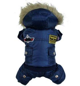 Зимняя куртка для собаки (абсолютно новая) XL