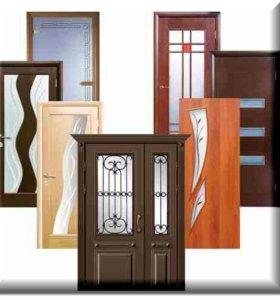 Межкомнатные двери Лучи Венге (шпон)