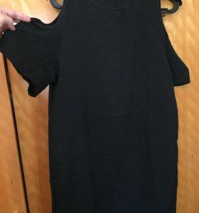 Туника-платье, кофта Zara, платье