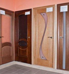 Межкомнатная дверь Квадро экошпон 5
