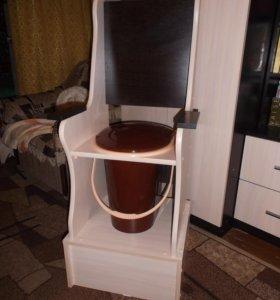 стул-туалет дачный