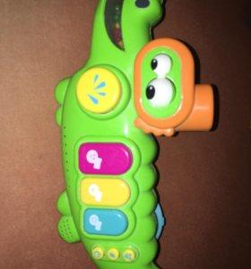 Игрушка для купания крокодил