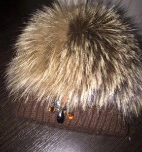 Детская натуральная шапочка