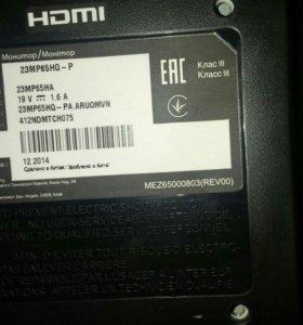 Продам монитор 23 дюйма LG (23mp65)