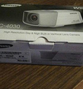 Камера видеонаблюдения Samsung