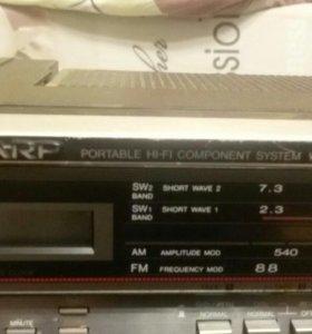Магнитофон SHARP WF - 939