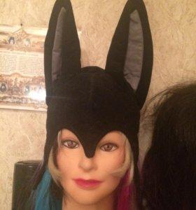 Икеа маска новогодний костюм шапочка с ушками