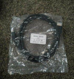 Кабель HDMI длина 1,5 и 1,8м