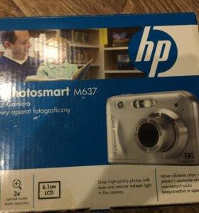 Компактный фотоаппарат HP Photosmart M637