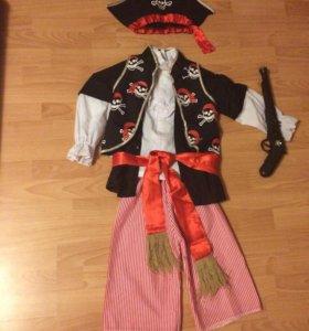Костюм пирата на 4-5 лет