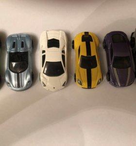 Машинки Hot Wheels 6 шт.
